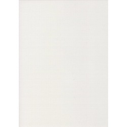 Perforated cardboard 48 * 70 cm white