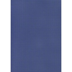 Perforated cardboard 48 * 70 cm blue