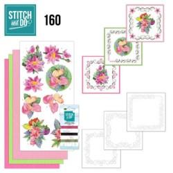 (STDO160)Stitch and Do 160 - Jeanine's Art - Exotic Flowers
