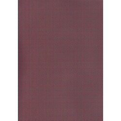 Perforated cardboard 48 * 70 cm bordeaux