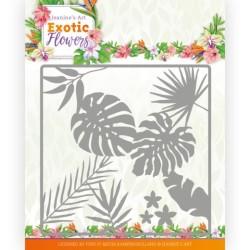 (JAD10130)Dies - Jeanine's Art - Exotic Flowers - Leaf and Flower Frame
