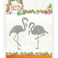 (JAD10131)Dies - Jeanine's Art - Exotic Flowers - Flamingo's
