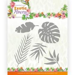 (JAD10132)Dies - Jeanine's Art - Exotic Flowers - Exotic Leafs
