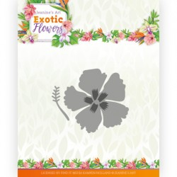 (JAD10134)Dies - Jeanine's Art - Exotic Flowers - Exotic Hibiscus