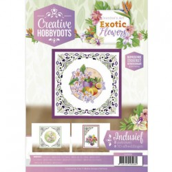 (CH10016)Creative Hobbydots 16 - Jeanine's Art - Exotic Flowers