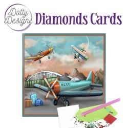 (DDDC1027)Dotty Designs Diamond Cards - Planes