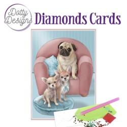 (DDDC1031)Dotty Designs Diamond Cards - Dogs