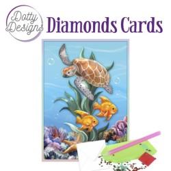 (DDDC1036)Dotty Designs Diamond Cards - Underwater World