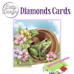 (DDDC1037)Dotty Designs Diamond Cards - Frog