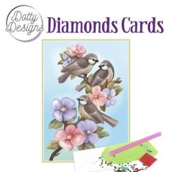 (DDDC1040)Dotty Designs Diamond Cards - Three Birds