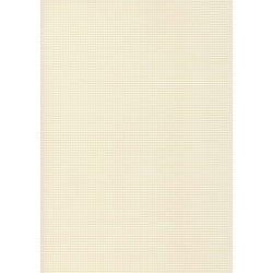Perforated cardboard 48 * 70 cm ivory