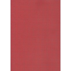 Perforated cardboard 48 * 70 cm red