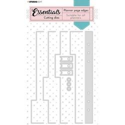 (SL-PES-CD04)Studio Light SL Cutting Die Borders page Planner Essentials nr.04