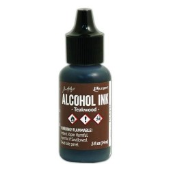 (TAL40743)Ranger - Tim Holtz alcohol ink 15 ml - teakwood