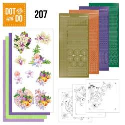 (DODO207)Dot and Do 207 - Jeanine's Art - Exotic Flowers