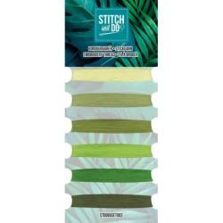 (STDOBGSET003)Stitch and Do - Embroidery Thread - Green