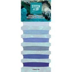 (STDOBGSET004)Stitch and Do - Embroidery Thread - Blue