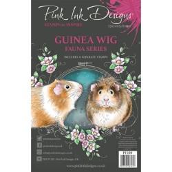 (PI109)Pink Ink Designs Clear stamp set Guinea wig