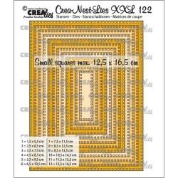 (CLNestXXL122)Crealies Crea-nest-dies XXL Rectangles with square holes
