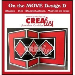 (CLMOVE05)Crealies Crea-nest-dies On The Move Design D