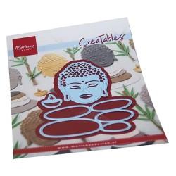(LR0727)Creatables Buddha & balancing stones