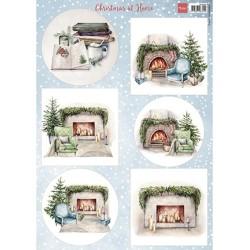 (VK9594)3D Christmas at home