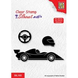 (SIL102)Nellie`s Choice Clearstamp - Formula one serie: 1
