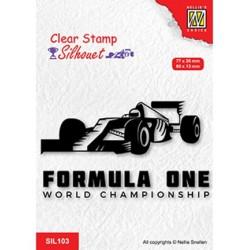 (SIL103)Nellie`s Choice Clearstamp - Formula one serie: 2