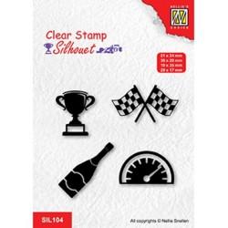 (SIL104)Nellie`s Choice Clearstamp - Formula one serie: 3