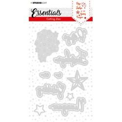 (SL-ES-CD59)Studio Light SL Cutting Die Christmas Prettige Feestdagen NL 1 Essentials nr.59
