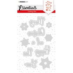 (SL-ES-CD60)Studio Light SL Cutting Die Christmas Merry Christmas ENG 1 Essentials nr.60