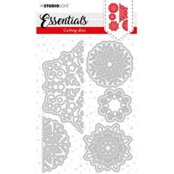 (SL-ES-CD64)Studio Light SL Cutting Die Christmas Large snowflakes Essentials nr.64
