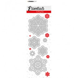 (SL-ES-CD65)Studio Light SL Cutting Die Christmas Small snowflakes 1 Essentials nr.65