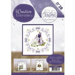 (CB10028)Creative Embroidery 28 - Precious Marieke - The Best Christmas ever