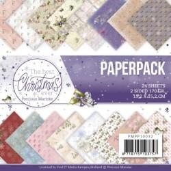 (PMPP10032)Paperpack - Precious Marieke - The Best Christmas Ever