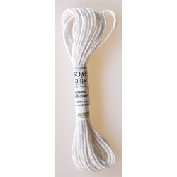 blanc Soie d'Alger Silk Thread 5M