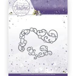 (PM10212)Dies - Precious Marieke - The Best Christmas Ever - Star Swirls