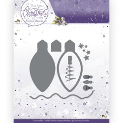 (PM10213)Dies - Precious Marieke - The Best Christmas Ever - Christmas Lights