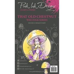 (PI116)Pink Ink Designs Clear stamp set A6 That old chestnut