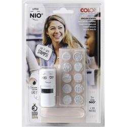 (NIL011)Nio English Set Little NIO Stamp