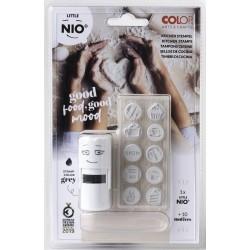 (NIL008)Nio Kitchen-Cooking Set Little NIO Stamp