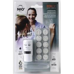 (NIL006)Nio Teacher Set Little NIO Stamp