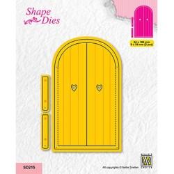 (SD215)Nellie's shape dies Door