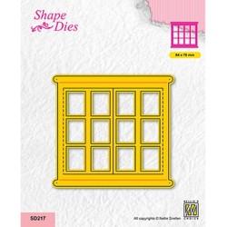 (SD217)Nellie's shape dies Open window-2