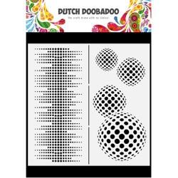 (470.784.009)Dutch Shape Mask Art Slimline Circles
