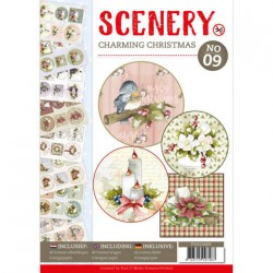 (POS10009)Push Out book Scenery 9 - Charming Christmas