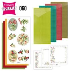 (SPDO060)Sparkles Set 60 - Jeanine's Art - Christmas Baubles