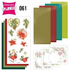 (SPDO061)Sparkles Set 61 - Jeanine's Art - Red Berries