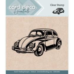 (CDECS062)Card Deco Essentials - Clear Stamps - Car