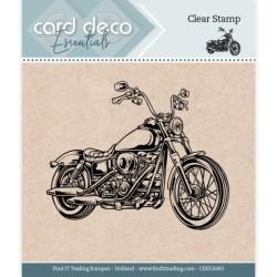 (CDECS063)Card Deco Essentials - Clear Stamps - Motor
